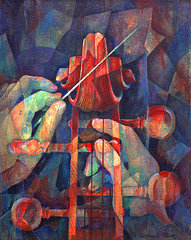 Well Conducted Cello by Suzanne Clark