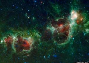 Cassiopeia 'Heart And Soul Nebulae'