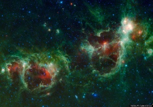 Cassiopeia 'Heart And Soul Nebulae'