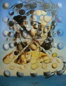 Salvador Dali's Gala of spheres