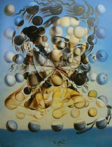 Salvador Dali's Gala of spheres