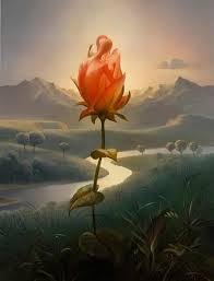 Vladimir Kush's Flower Life