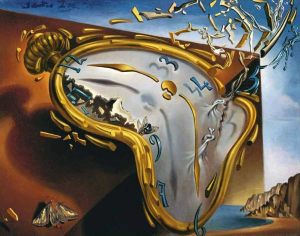 Salvador Dali's The Melting Watch
