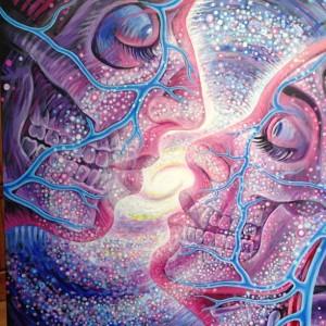 "Alex Grey's 'Cosmic Lovers"""